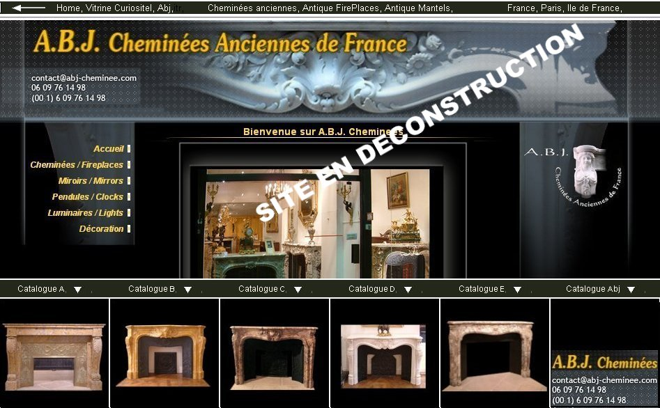 antique FirePlaces, antique mantels, chemin�es anciennes, France, Paris
