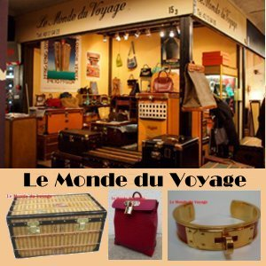 Le Monde du Voyage, Specialist of antique luggages Vuitton, Herm�s, Chanet, Goard